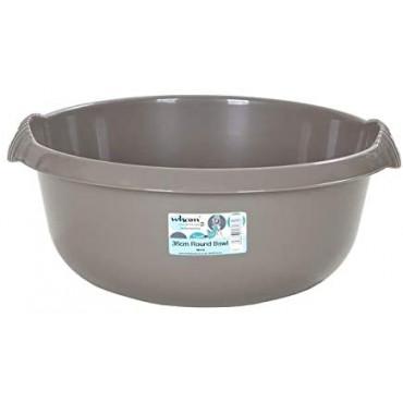Round Bowl Silver 32Cm