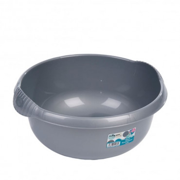 Round Bowl Silver 36Cm