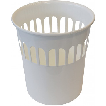 Waste Paper Basket White
