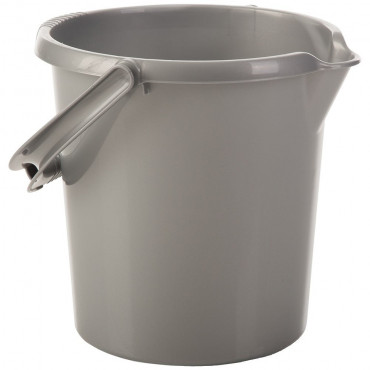 Black Bucket And Lid 16Ltr