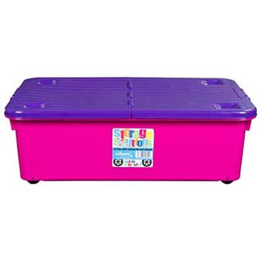 BOX WITH WHEELS 32L PINK/PURPLE