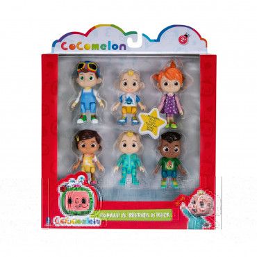Cocomelon Family and Friends 6 Pack