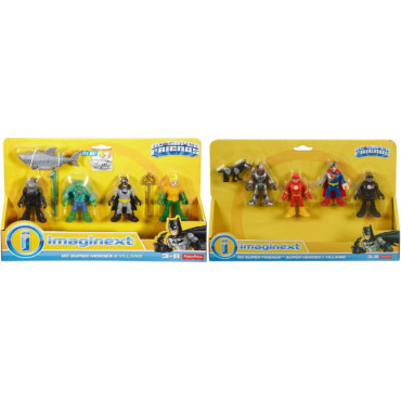 Dc Superfriends Heroes-Villains Assorted- Specify