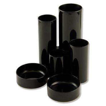 Desk Tidy Tube Black
