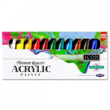 Box 12X36Ml Acrylic Paints