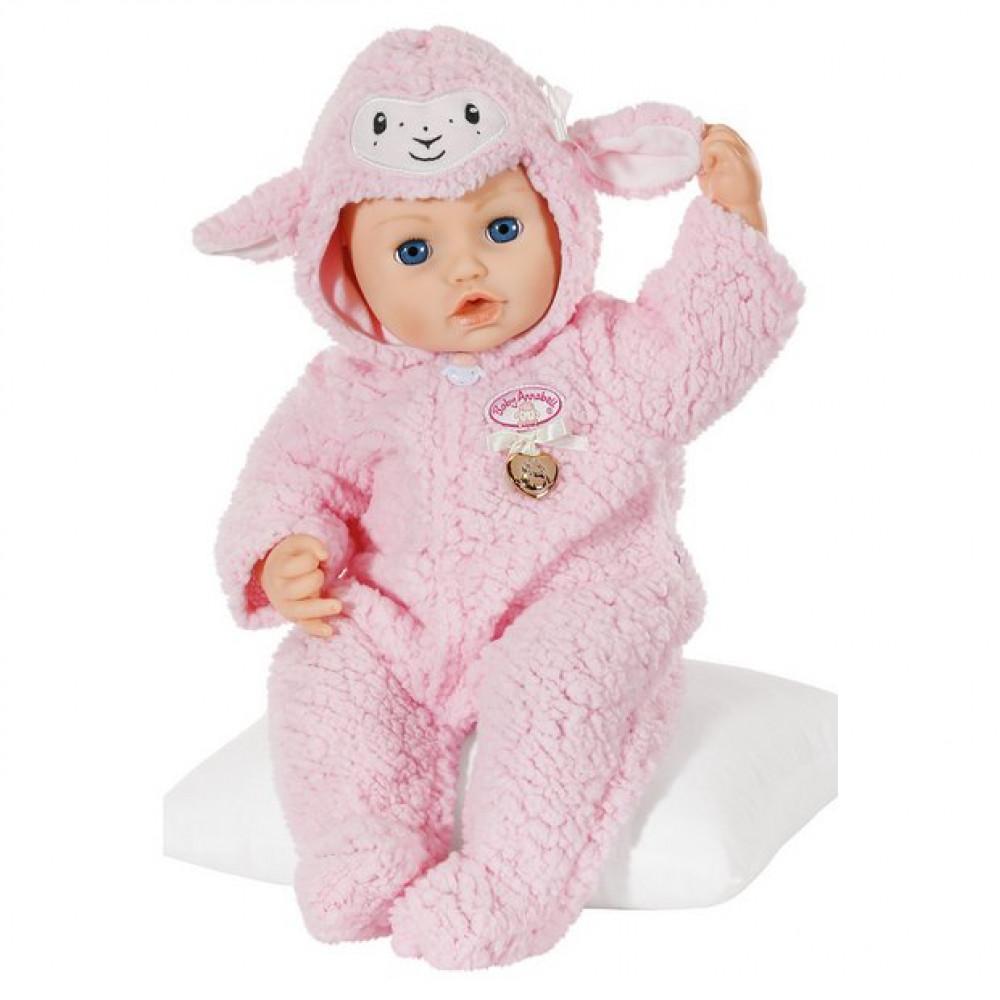 Baby Annabell Deluxe Sheep Onesie 43cm