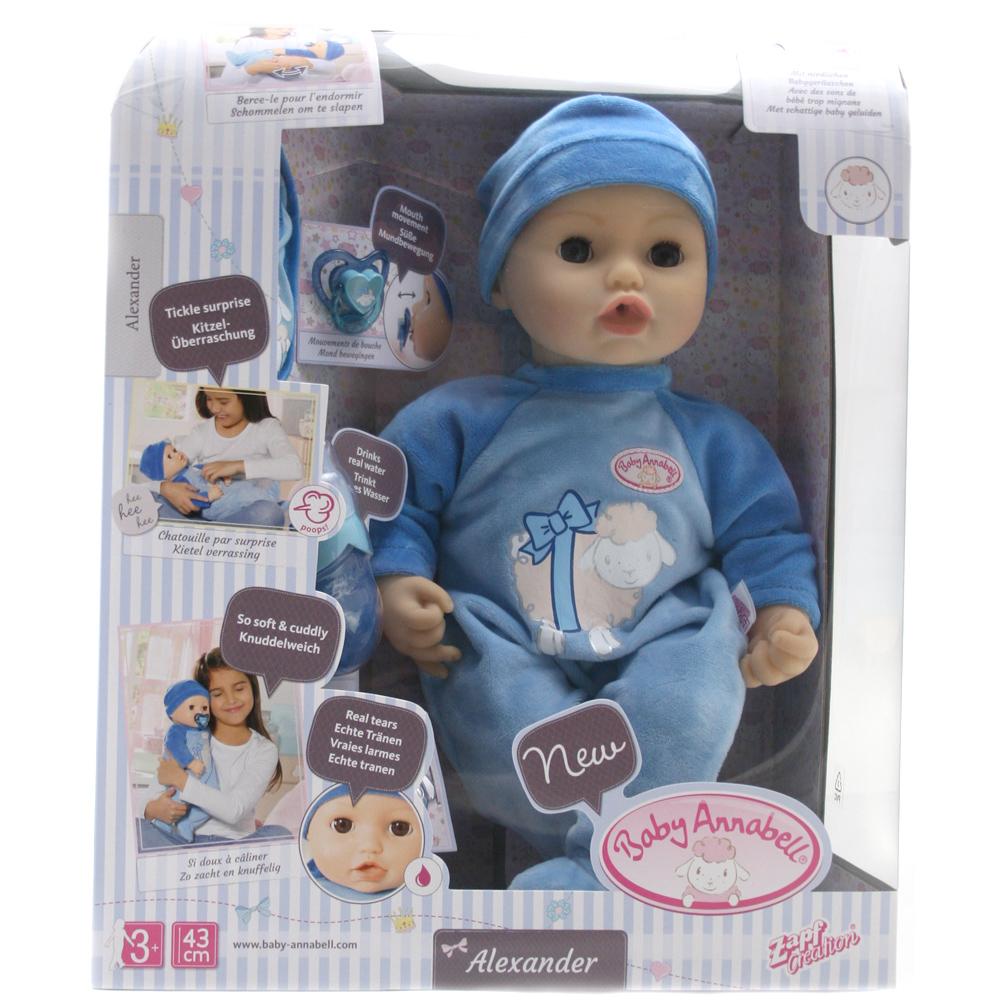 Baby Annabell Alexander Doll Boy
